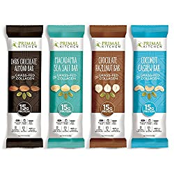 Primal Kitchen Collagen Bars - Variety Pack - 4 Flavors
