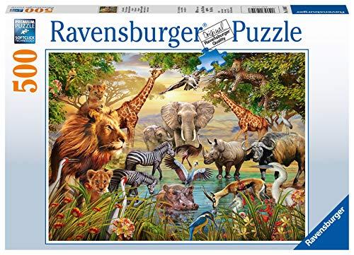 Ravensburger Italy- Puzzle da 500 Pezzi, 14809 7