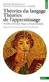 Théories du langage, théories de l'apprentissage