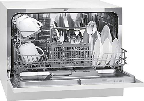 Elle peut accueillir un grand nombre d'ustensiles, assiettes, tasses et verres lave-vaisselle mince,White