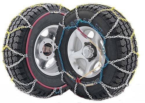 J-4X4 - Juego de dos cadenas de nieve para todo terrenos y SUV talla 380, válidas para neumáticos: 205/75_R14, 205/80_R14, 205/_R14, 215/75_R14, 195/80_R15, 195/_R15, 205/70_R15, 205/75_R15, 215/65_R15, 215/70_R15, 225/60_R15, 235/60_R15, 185/75_R16, 205/65_R16, 215/60_R16, 245/40_R17