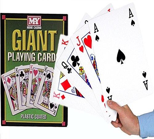 MY - Carte da gioco in formato A4, rivestite in plastica, 28...