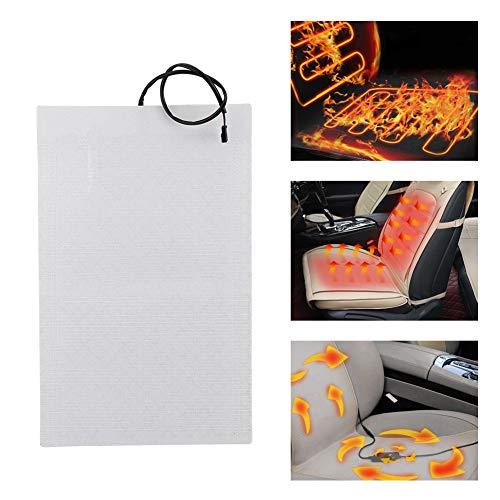 La comodidad no debilita fácilmente el calefactor del asiento, una vida útil más larga que no rompe fácilmente las almohadillas del calefactor del asiento, no corroe fácilmente el(set)