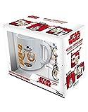 ABYstyle Juego de Tronos de Star Wars - Taza con llavero y pegatina BB8 para adultos, ABYPCK076