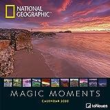 National Geographic Magic Moments 2020 - Posterkalender - 30x30cm - Landschaftskalender - Tierkalender - atemberaubende Fotografie