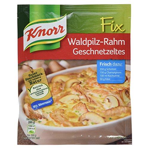 Knorr Fix Waldpilz-Rahm Geschnetzeltes 3 Portionen