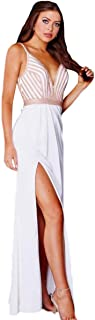 JVN by Jovani Womens 59052A Prom Embellished Evening Dress