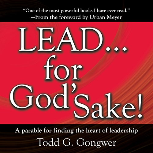 LEAD . . . For God's Sake! audiobook cover art