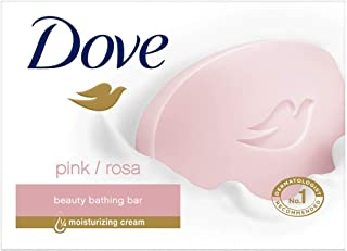 Dove Pink Rosa Beauty Bar, 100 g with (Buy 4 Get 1 Free)