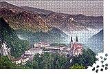 Rompecabezas Para 1000 Piezas,Asturias España Cresta Picos De Europa Puzzle De Paisaje,Vista De National Geographic Rompecabezas De Madera,Puzzles Regalo De Cumpleaños Para Niños Y Adultos(75*50Cm)