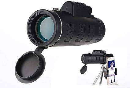 Monokular Teleskop 40x60 Hd Monokular Fernglas Mit Smartphone Halterung Stativprisma Für Vogelbeobachtung Jagd Überwachung Wandern
