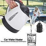 AUNMAS Tragbare Auto wasserkocher 1000 ml 24 v Reise Auto LKW wasserkocher Wasser heizflasche für...