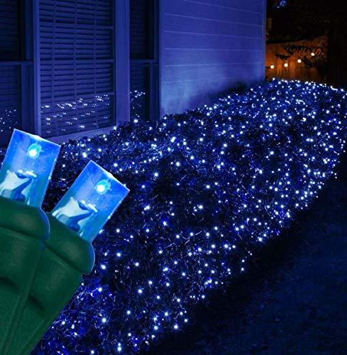 Blue Color LED Christmas Installation Area Indoor & Outdoor M5 String Lights 70 Lights - 24'' #CMS01YN