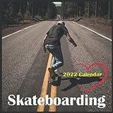 Skateboarding Calendar 2022: Mini Calendar Skateboarding ,12 Month Calendar ,Square 2022 Calendar ,Extreme Sports Calendar