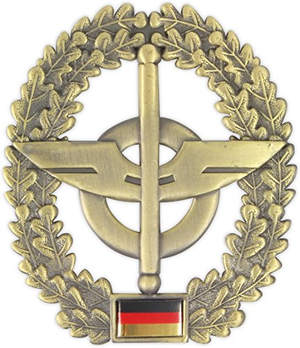Original Bundeswehr Barettabzeichen aus Metall in verschiedenen Sorten zur Auswahl Farbe Nachschub