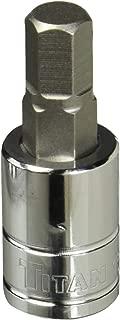 Titan Tools 15609 3/8-Inch Drive x 9mm Hex Bit Socket