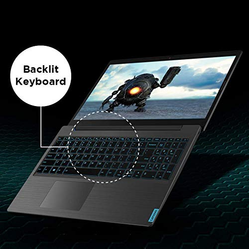 Lenovo Ideapad L340 Gaming 9th Gen Intel Core i5 15.6 inch FHD IPS Gaming Laptop (8GB/512GB SSD/Windows 10/4GB GTX 1650/Black/2.3Kg), 81LK00NRIN