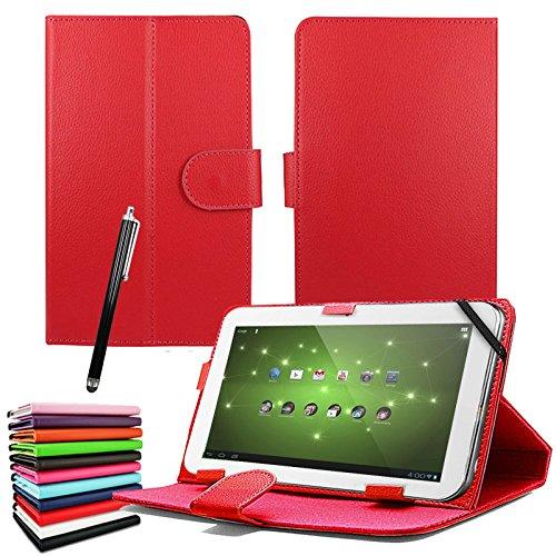 Entity: custodia universale cover flip in ecopelle 7', per tutti i Tab Andriod, tablet PC/aPad Mid netbook/Galaxy Tab 2 Tab 3 & Tab 4/HDX/eBook Reader/Nexus & Nexus FHD/Dell Streak/Tesco Hudl/Allwinner/Gotab a 7 pollici – Executive fine custodia per tablet da 7' di qualità superiore + pennino capacitivo – SPEDIZIONE GRATUITA NEL REGNO UNITO *