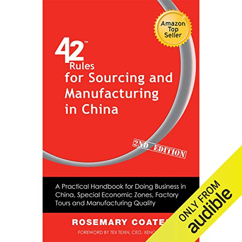 42 Rules for Sourcing and Manufacturing in China Titelbild