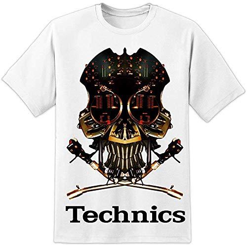 niupai Technics 1200 DJ Skull DJ T Shirt (S-3Xl) Vestax Pioneer Serato...
