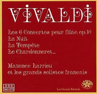 Vivaldi: 6 Concertos pour Fluete op. 10