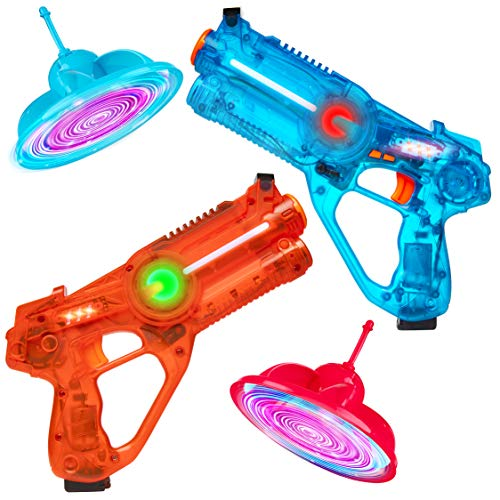 Power Your Fun Laser Launchers Laser Tag for Kids - 2 Player Lazer
