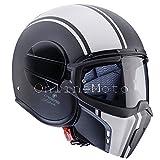 Casco moto Caberg Ghost Legend nero opaco/bianca
