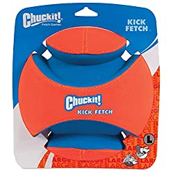 Bull terrier toys - Chuckit! Large Kick Fetch Ball