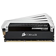 Corsair CMD16GX4M4A2666C15 DOMINATOR Platinum Series 16GB (4 x 4GB) DDR4 2666MHz (PC4 2666) C15 memory kit for DDR4…