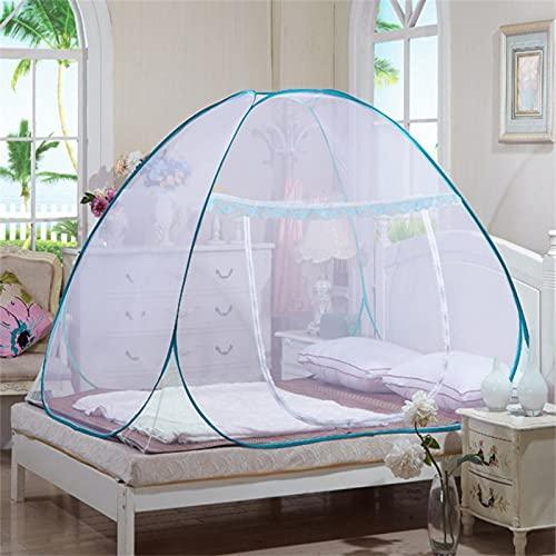 ZOULME Mosquitera portátil para viajes, evita insectos de una sola puerta, fácil instalación, protección contra mosquitos para dormitorio, camping al aire libre