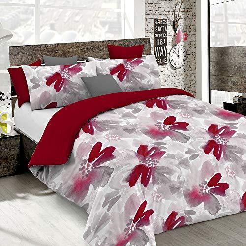 Italian Bed Linen Fashion Copripiumino, Multicolore (Passion), 1 Piazza