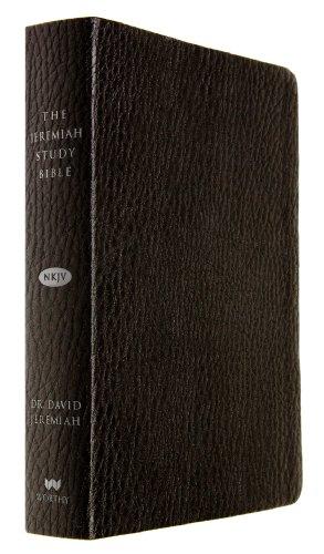 The Jeremiah Study Bible, NKJV: Black LeatherLuxe®: What It Says. What It Means. What It Means For You.