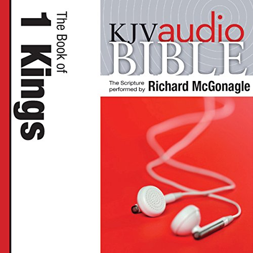 Pure Voice Audio Bible - King James Version, KJV: (10) 1 Kings cover art