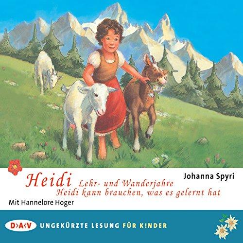 Heidi - Lehr- und Wanderjahre / Heidi kann brauchen, was es gelernt hat cover art