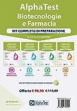 Alpha Test. Biotecnologie e farmacia. Kit completo di preparazione: Manuale di preparazione-Esercizi commentati-Prove di verifica-3200 quiz. Con eostware di simulazione
