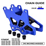CNC Chain Guard Guide Protector Protection For WR250F 01-06 WR400F 98-00 WR426F 01-02 WR450F 03-06 YZ125 97-07 YZ250 97-07 YZ250F 01-06 YZ400F 98-99 YZ426F 00-02 YZ450F 03-06