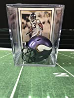 Minnesota Vikings Helmet Shadowbox w/John Randle card