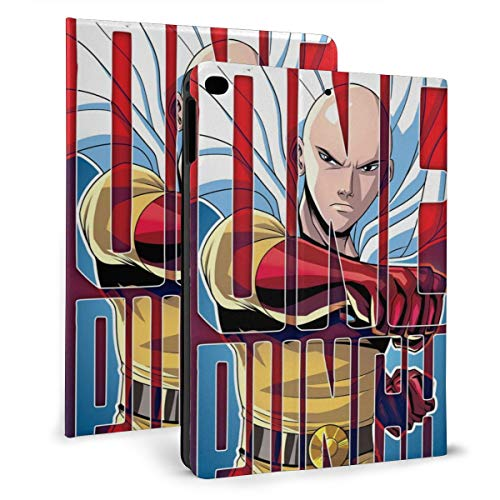 Anime One Punch Man PAD 9.7 Case For 2018 2017 / PAD Air 1/2 Cover Auto Wake/Sleep For Apple PAD 9.7 Inch 6th / 5th Pu Leather Shell Stand Smart Slim.