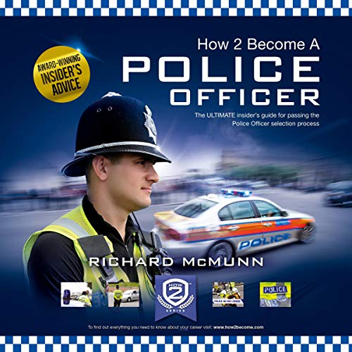 How 2 Become a Police Officer audiobook cover art