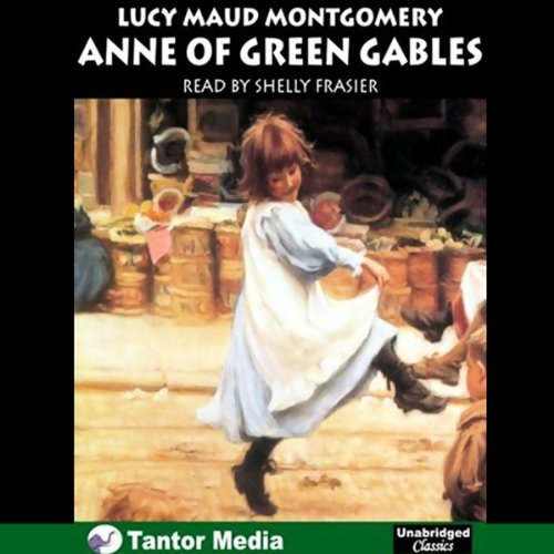 Anne of Green Gables audiobook cover art