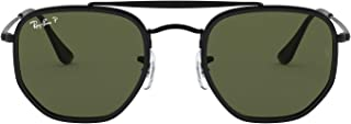 Ray-Ban Men's Sunglasses Marshal II, Black/Green