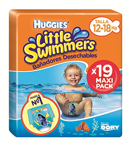 Huggies Little Swimmers Pañal Bañador Desechable Talla 5-6