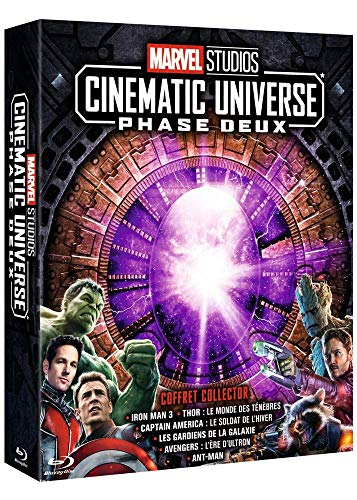 Marvel Studios Cinematic Universe : Phase Deux [Blu-ray]