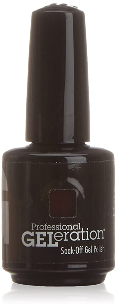 共役会計士比類のないジェレレーションカラー GELERATION COLOURS 234 C チェリーウッド 15ml UV/LED対応 ソークオフジェル