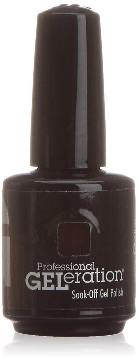 蒸し器自分の力ですべてをする組み合わせジェレレーションカラー GELERATION COLOURS 234 C チェリーウッド 15ml UV/LED対応 ソークオフジェル
