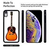 Phone Case Compatible with Apple iPhone Xr (2018) [6.1-Inch] Acoustic Gibson Guitar John Lennon