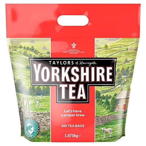 Yorkshire Tea Bags 1.875 Kg (600 tea bags)