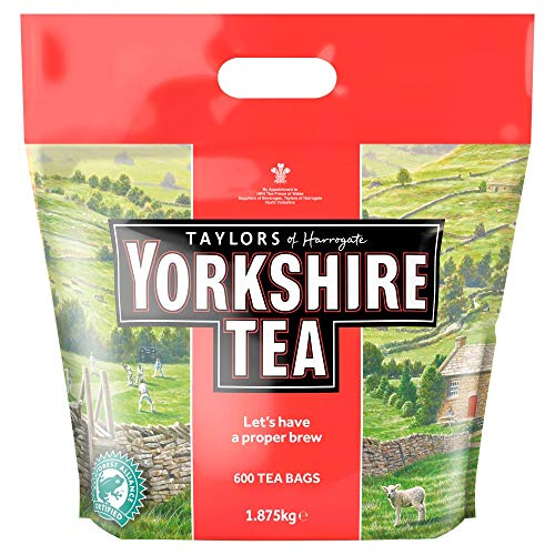 Taylors of Harrogate Yorkshire Tea 600 Btl. 1875g - Schwarzer Tee, das Original ( KEIN ONECUP )