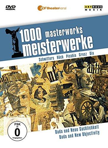 1000 Meisterwerke - Dada & Neue Sachlichkeit, 1 DVD