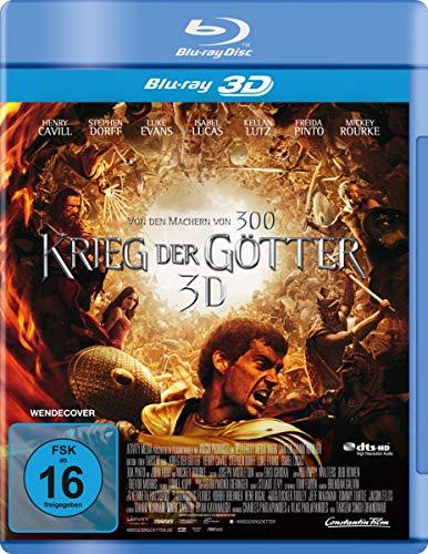 Krieg der Götter [3D Blu-ray]